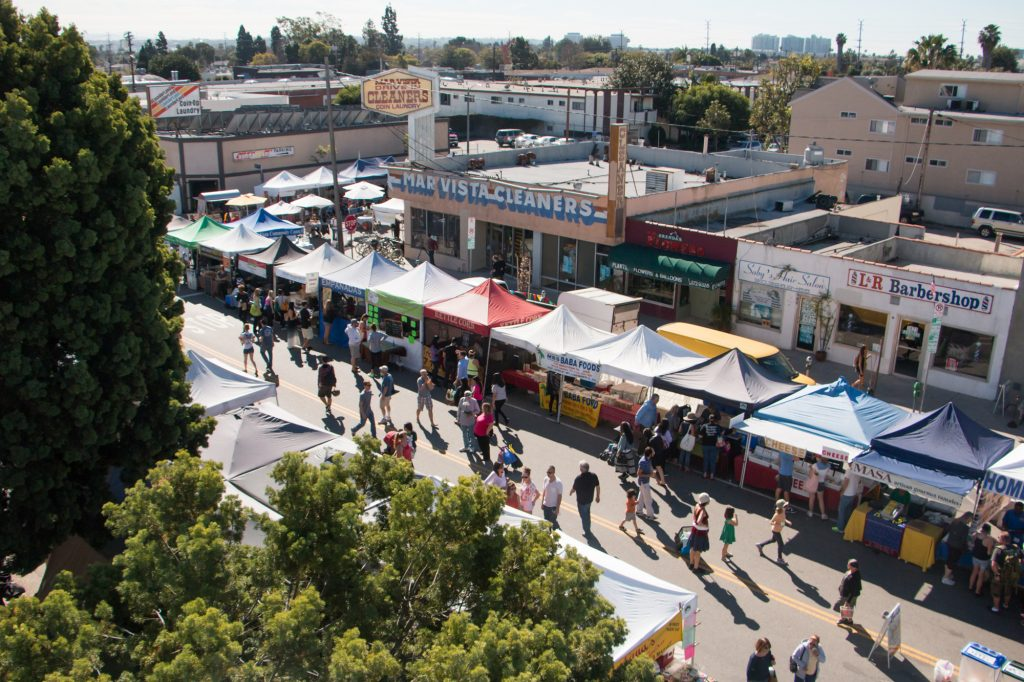 Mar Vista Farmers Market in Los Angeles