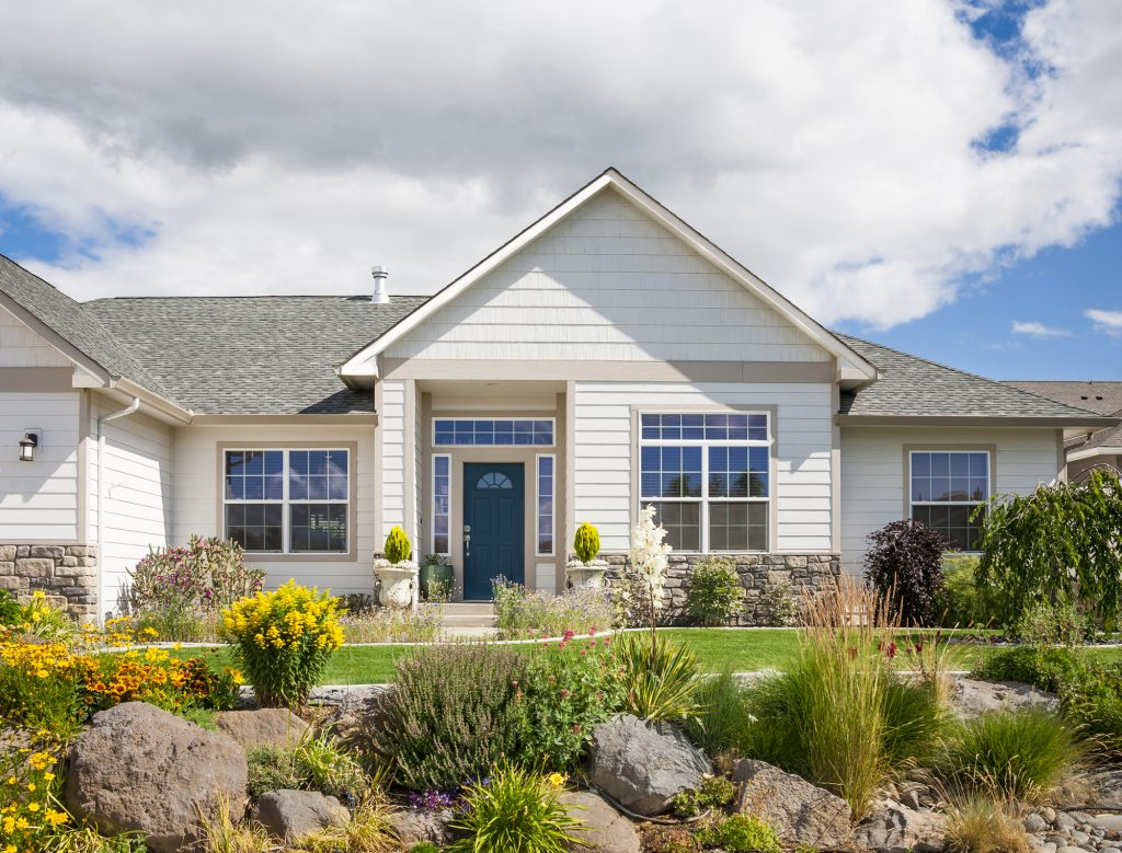 New Home with Rock Garden in Playa Vista